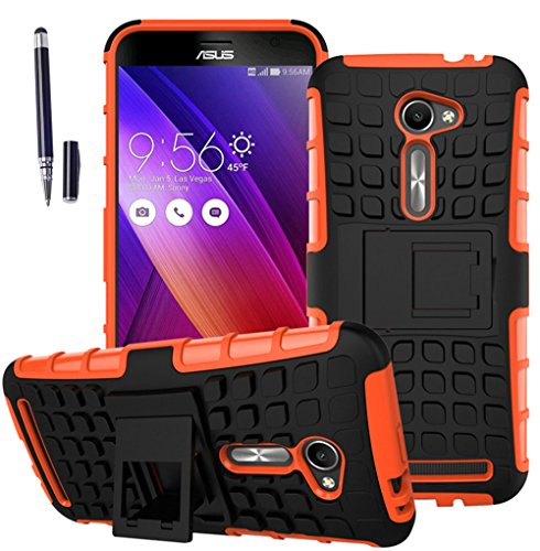 asus-zenfone-2e-2-ze500cl2015-hulle-mit-schwarz-smart-touch-pen-stift-tpu-pc-ultra-slim-silikon-toug