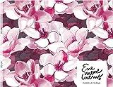 Lillestoff Celine, Jersey Blumen Flower *** 50 cm x 150 cm