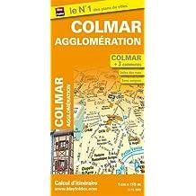 Plan de Colmar et de son agglomération