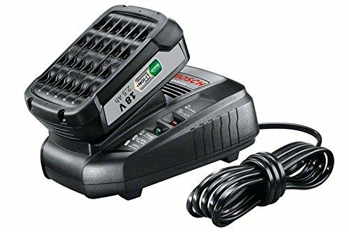 Bosch 18V Akku System Set mit Akku und Ladegerät (18 Volt System, 2,5 - 18v Akku-ladegerät Dewalt