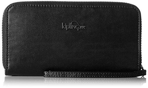 Kipling Alia, Portefeuilles femme, Schwarz (Lacquer Night), 19x10x2 cm (B x H T)