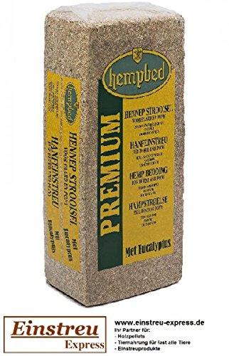 Hempbed Hanfeinstreu 15kg mit Eukalyptus