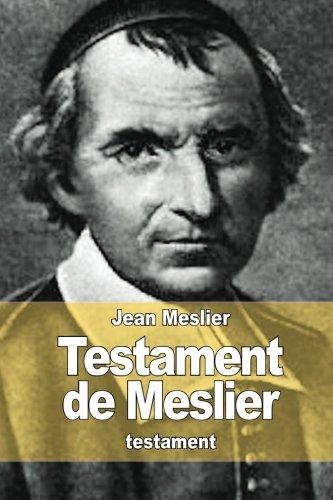 Testament de Meslier