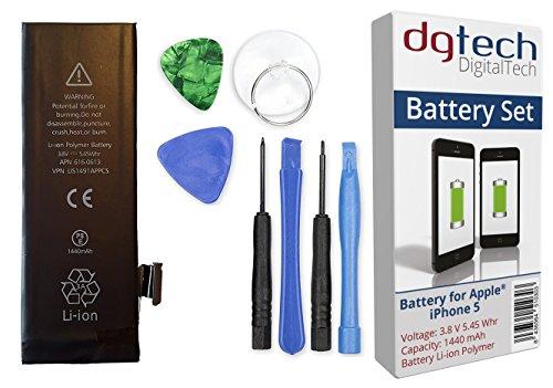 DigitalTech - Batería Compatible iPhone 5 Alta Capacidad