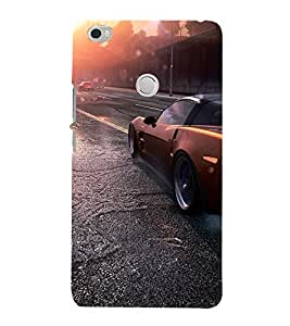 Krazzy Kollections Red Convertible Car Redmi Max Back Cover | Matt Base Mobile Cover for Redmi Max | Cases & Covers |
