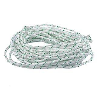 YAMASCO 08S 009 010 011 012 015 017 018 019 020 Rückstoß Starter Seil 10-Meter (Durchmesser: 3,0 mm) Pull-Kabel für Husqvarna Stihl Sears Handwerker Poulan Briggs Stratton Rasenmäher