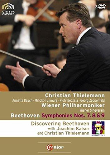 BEETHOVEN Sinfonien 7, 8 & 9 Christian THIELEMANN (+ 170 min. Doku mit Joachim Kaiser) 3 DVD (Ici Natürlichen)