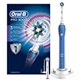 Oral-B PRO 3000 CrossAction wiederaufladbare elektrische Zahnbürste powered by Braun