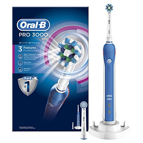 Oral-B PRO 3000 CrossAction Brosse à Dents Electrique Rechargeable