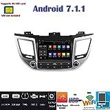 Android 7.14g LTE GPS DVD USB SD Wlan Bluetooth Autoradio 2Din NAVI Hyundai Tucson/Hyundai ix352015, 2016, 2017