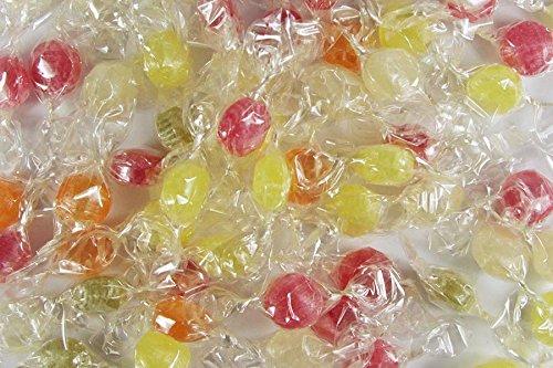 Liliput-Bonbons mit Fruchtgeschmack, einzeln verpackt im transparentem Wickler, im 1kg Beutel