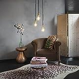 QAZQA Modern Esstisch/Esszimmer/Puristische Pendelleuchte/Pendellampe/Hängelampe/Lampe/Leuchte Cava 3-flammig Gold/Messing/Innenbeleuchtung/Schlafzimmer Metall Rund/Länglich LED gee