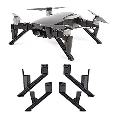 KUUQA Landing Gear Leg Height Extender Leg Support Protector Kit for Dji Mavic Air?Accessories for Mavic Air(Drone Not Included) from KUUQA