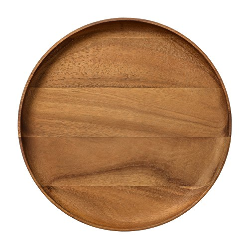 Bloomingville A23300003 Round Acacia Wood Serving Tray -