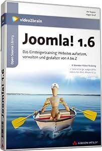 Joomla! 1.6 - Video-Training. 6 Stunden Video-Training
