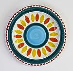Ceramiche De Simone Piatto mangiallegro -decoro solunto