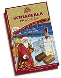 Schladerer Pralinés Edle Mischung mit Weihnachts-Aufleger, 1er Pack (1 x 255 g)