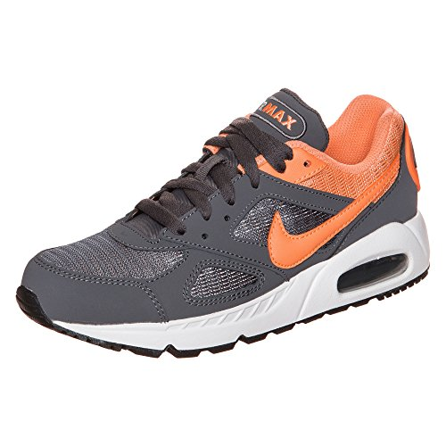 Nike Wmns Air Max Ivo, Chaussures de Sport Femme, 37,5 EU gris - Gris (Dark Grey / Peach Cream-White)