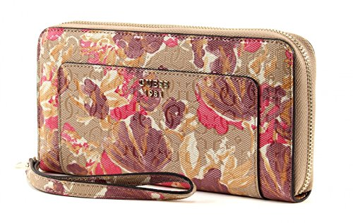 GUESS Marian Large Zip Around Floral Multi