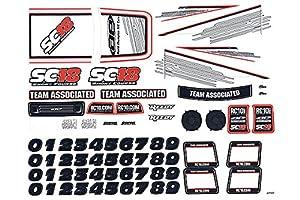 Team Associated SC18RTR Decal Sheet