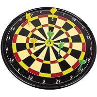 """Dartscheibe """"Sport"""", im authentischen Design, mit kindersicheren Magnetpfeilen, Wurfspiel für die ganze Familie"""