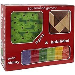 Aquamarine Games - Pack: ingenio y habilidad (Compudid CP004)