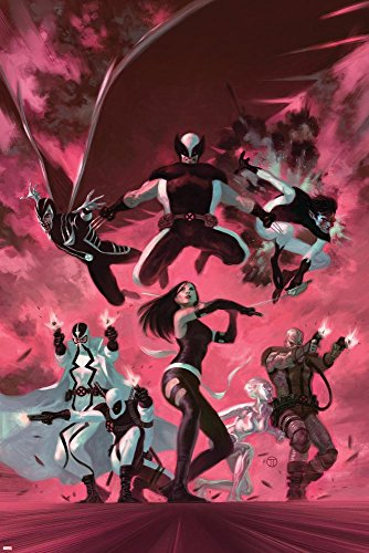 uncanny-x-force-35-cover-psylocke-archangel-fantomax-deathlok-deadpool-nightcrawler-poster-by-julian
