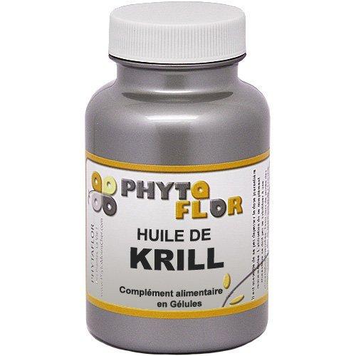 Huile de KRILL pure Phytaflor 500 mg - . : Boite de 90 capsules