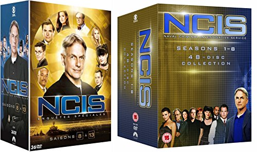 NCIS Staffel 1-13 / Navy CIS Season 1 + 2 + 3 + 4 + 5 + 6 + 7 + 8 + 9 + 10 + 11 + 12 + 13 in Deutsch und Englisch - EU Import - La 4 Ncis Staffel