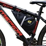 YANHO Oxford Gewebe Dreiecktasche Triangel Tool Bag Lenkertaschen Fahrradtasche große Kapazität Utensilientasche Radtasche für Radsport Bergsteigen Camping Trekking Outdoor