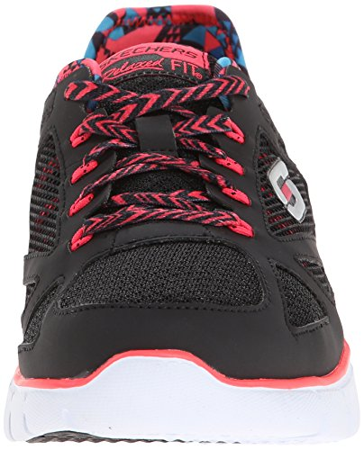 Skechers Skech-flex ultimate Reality Damen Sneakers black/coral (BKCL)