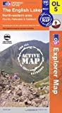 The English Lakes - North Eastern Area (OS Explorer Map Active)