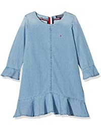 Tommy Hilfiger Denim Dress L/S, Robe Fille