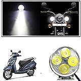 #10: Vheelocityin 4 Led Small Circle Motorcycle Light Bike Fog Lamp Light - 1 Pc