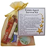 Estate Agent Survival Kit Gift (New job, work gift, Secret santa gift for colleague)