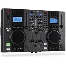 Skytec 172806 Stx-95 Doppio lettore e mixer