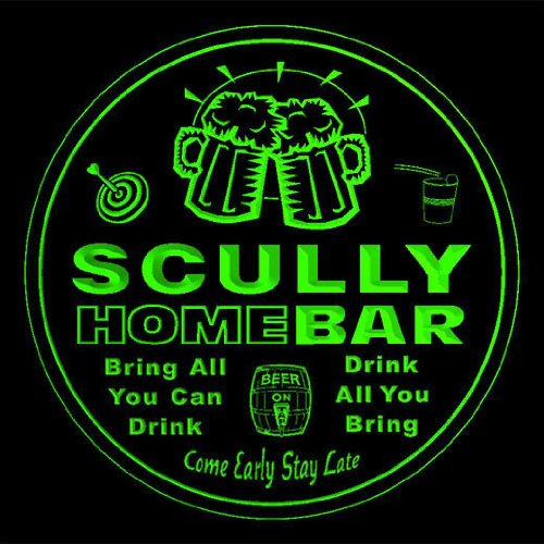 4x-ccq40312-g-scully-family-name-home-bar-pub-beer-club-gift-3d-coasters