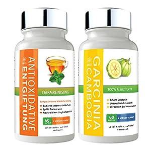 GBSci Garcinia Cambogia & Antioxidantien Detox Reinigung | Unterstützt den Gewichtsverlust | Geeignet für Männer und Frauen | Ausschließlich natürliche Zutaten | Ein Monatsvorrat