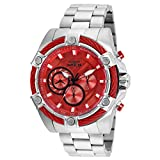Invicta Speedway Chronograph Red Dial Mens Watch 25514
