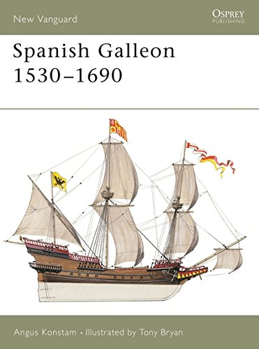 Spanish Galleon 1530-1690 (New Vanguard) por Angus Konstam