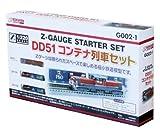 Z demarreur G002-1 jauge fixe DD51 train de conteneurs ensemble