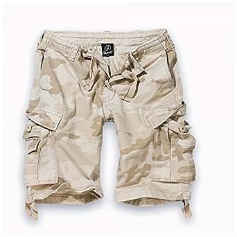 Brandit Herren Cargo Short Vintage Shorts 2002 S Sandstorm
