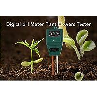 shuzhen,Boden Hygrometer Pflanze Blumen ph - Tester Feuchtigkeit belichtungsmesser(Color:grüne)