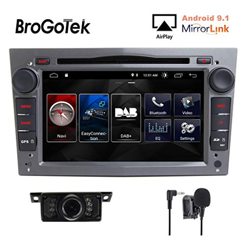 Android 8.1 Doppel 2 DIN Autoradio CD DVD System DAB+ Kapazitiver Touchscreen GPS Navigation Screen Mirroring Link 3G WIFI für Opel Corsa Zafira Antara Astra Vectra Meriva
