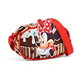 Karactermania Minnie Mouse Muffin-Sac à Bandoulière Basic Horizontal Go Borsa Messenger, 20 cm, Marrone (Brown)