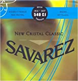 Savarez Saiten für Klassikgitarre New Cristal Classic Satz 540CJ High Tension blau