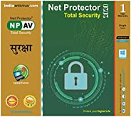 NPAV Net Protector 2020 Total Security Gold Edition - 1 PC, 1 Year (Email Delivery in 2 Hours)
