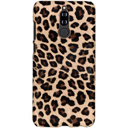 hCase Huawei Mate 10 Lite Hülle - Leopard, Wildkatze, Tiermuster - Hard Case Handyhülle