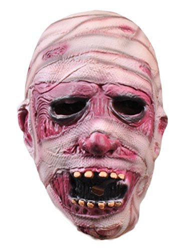 ShallGood Unisex Halloween Kostüm Maske Latex Maske Cosplay Lustig Horrible Stil Alle Heiligen Tag Anime Maske Scary Kaninchen Clown Monster #11 One Size