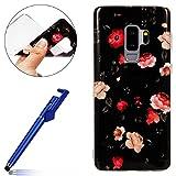 Best Bourgeons Cas de téléphone - Coque Galaxy S9 Plus,Coque Housse pour Samsung S9 Review